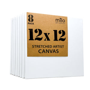 "12 x 12"" Stretched Canvas 