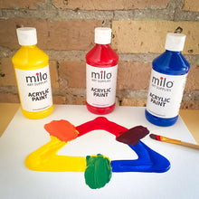 Load image into Gallery viewer, Milo Acrylic Paint 8 oz Bottles Set of 8