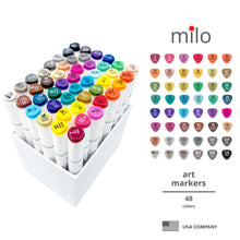 Load image into Gallery viewer, Milo Brush Tip Art Markers | Set of 48