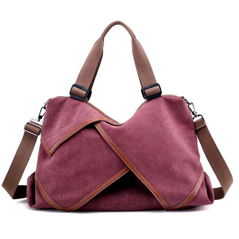 """Pixie"" canvas multipurpose casual hobo tote bag"