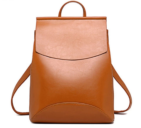 """Vienna"" gorgeous high quality PU leather backpack"