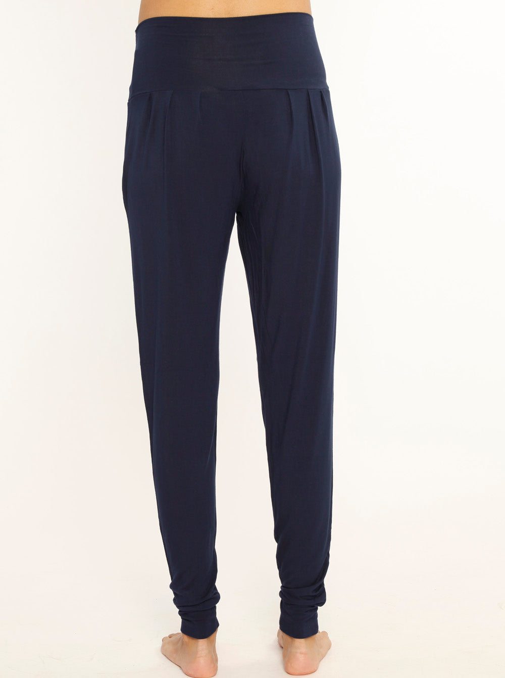 """The Best Seller"" Bamboo Pants - Black/ Navy"