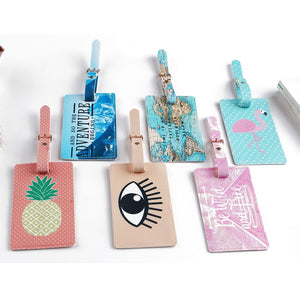 Vacation Time Luggage Tags