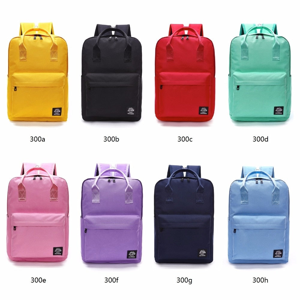 Large Capacity Colorful Backpack