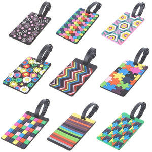 Travel Time Luggage Tags