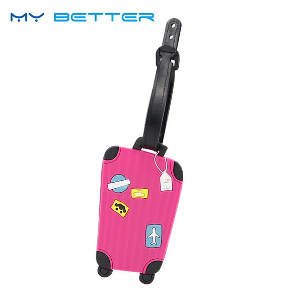 Colorful Suitcase Luggage Tags