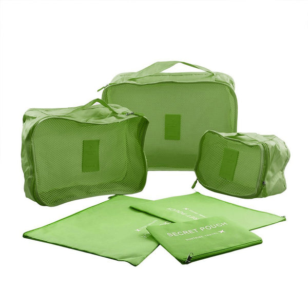 Packing Cubes - 6 Piece Set