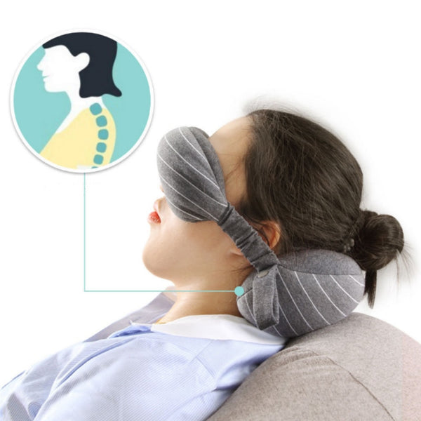 Neck Pillow & Eye Mask