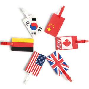 National Flag Luggage Tag