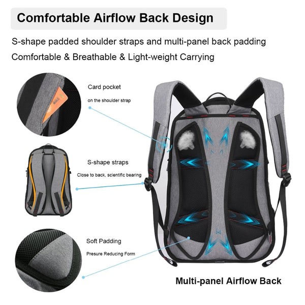 Mixi Waterproof Laptop Backpack