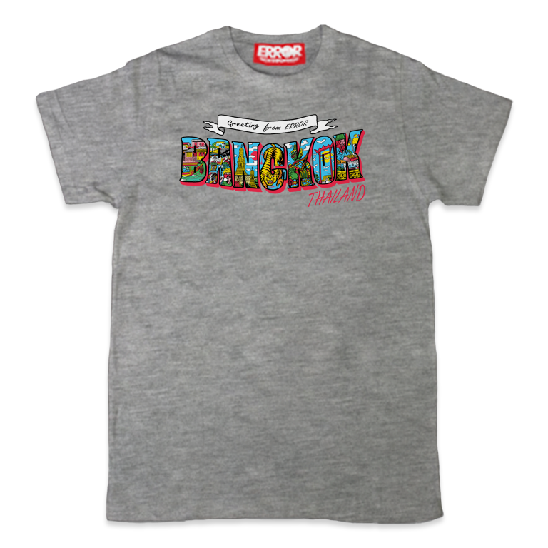 "ERT 54 "" BANGKOK "" - Grey top dyed"
