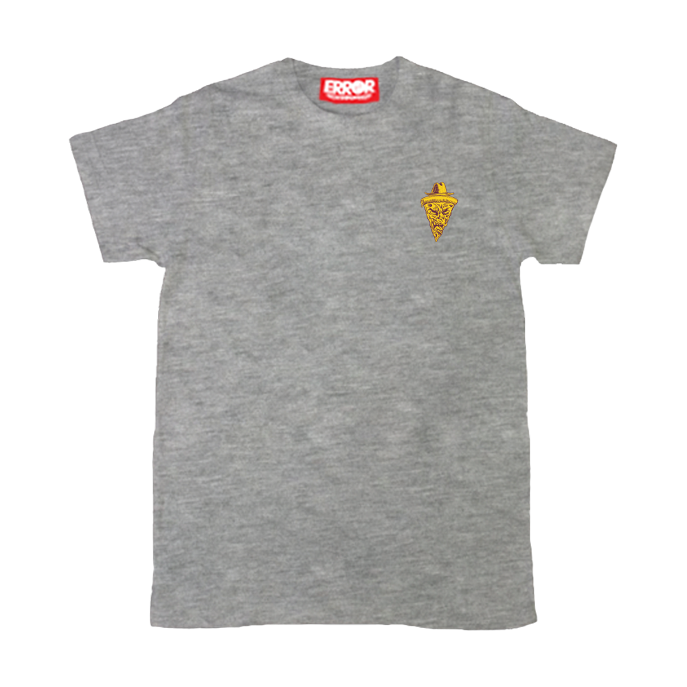 "ERT 56 "" FREDDY PIZZA "" - Grey top dyed"