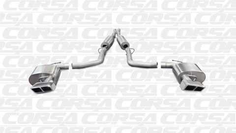 CORSA Cat Back Exhaust (2011 - 2014 SRT8 Challenger)
