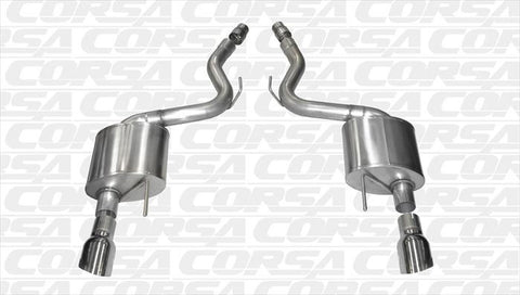 Corsa Axle Back Exhaust (Mustang GT)