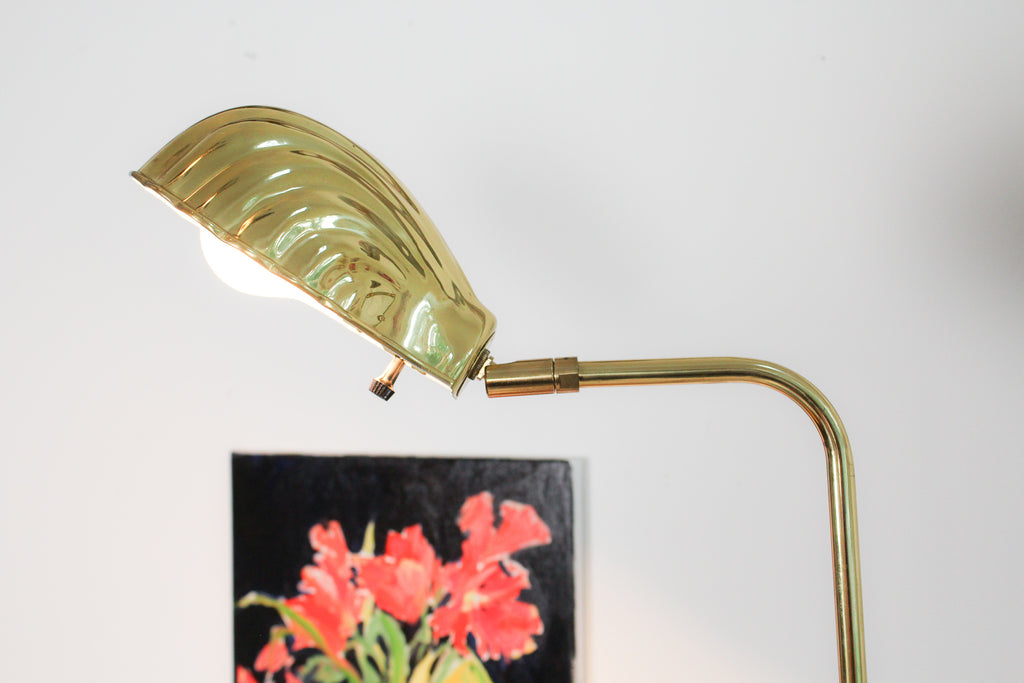 VTG Clamshell Floor Lamp