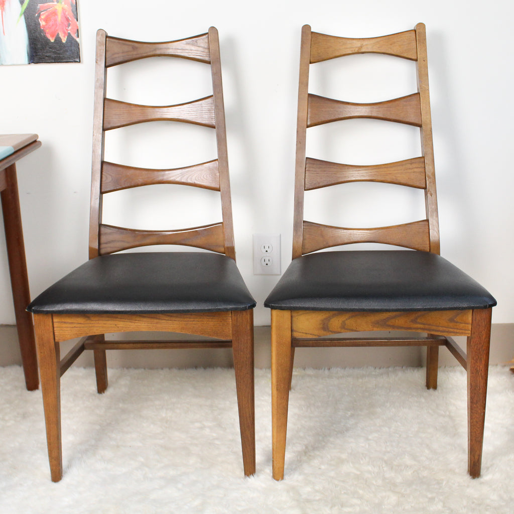 Mid Century Modern Bow Tie Dining Chairs (2)