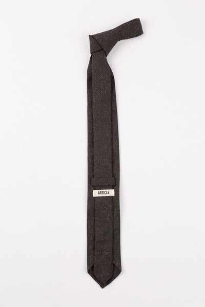 Everyday Tie in Dark Charcoal Speckle by Article