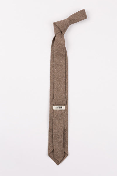 Everyday Tie in Light Brown by Article