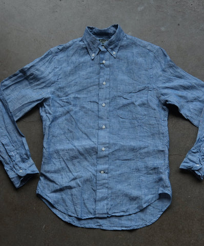 Classic Chambray Shirt by Gitman Vintage