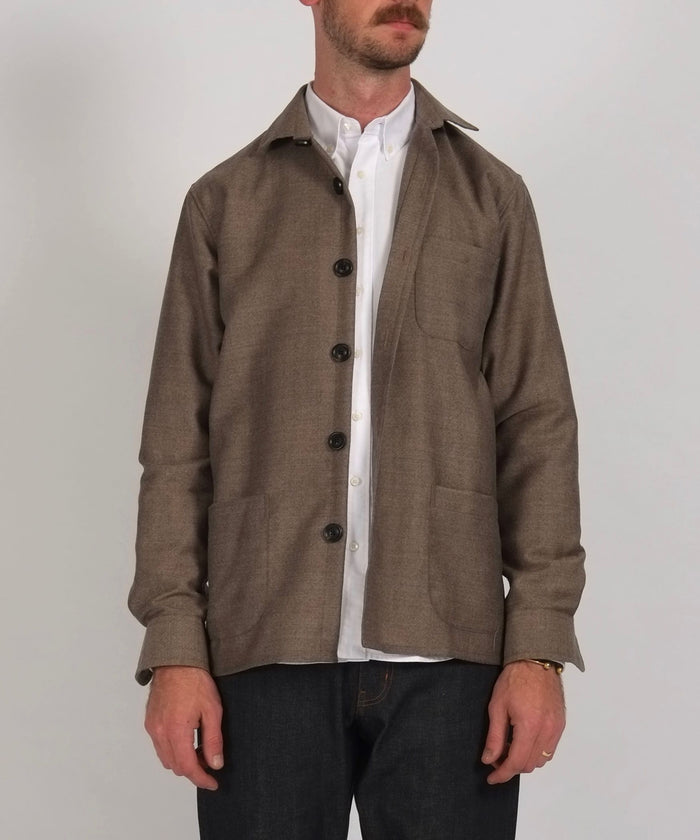 Overshirt Virgin Wool by Schnayderman's