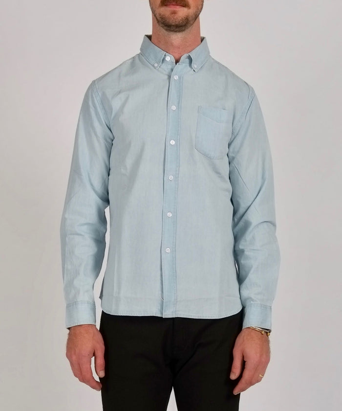 Crosby Button Down Denim Shirt by Saturdays NYC