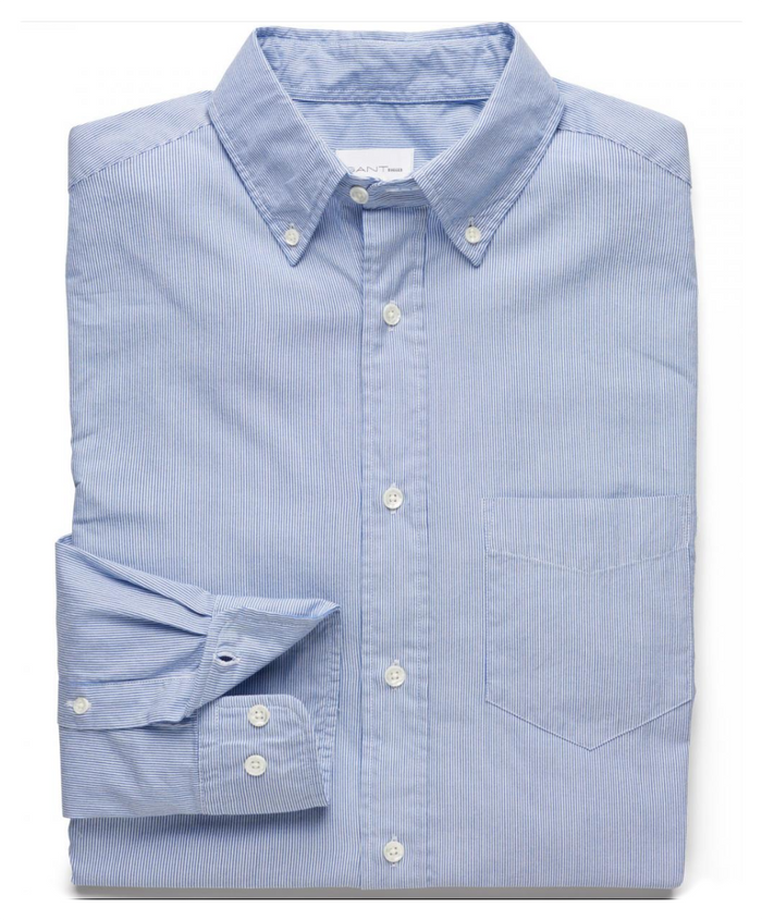 Dreamy Oxford Stripe Shirt by Gant Rugger
