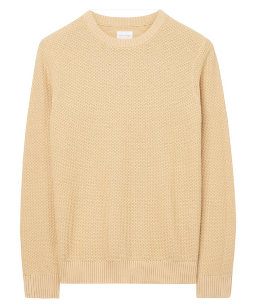 Solid Texture Crew Sweater by Gant Rugger