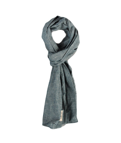 Extra Neppy Indigo Scarf by The Hill-Side