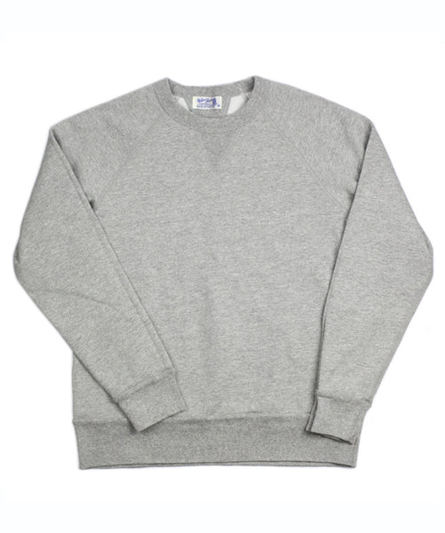 Heather Gray Raglan Crew by Velva Sheen