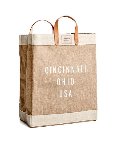 Cincinnati Market Bag by Apolis