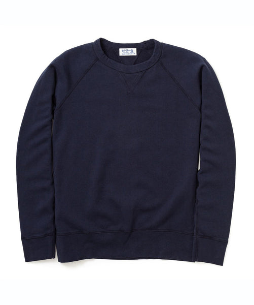 Indigo Raglan Crew by Velva Sheen