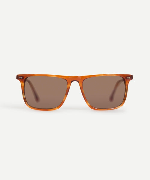 Warren in Light Stripe Tortoise by Steven Alan