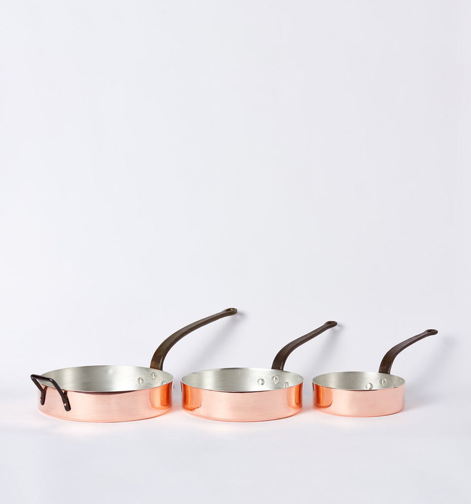 Duparquet Copper Pans at Farm & Fable
