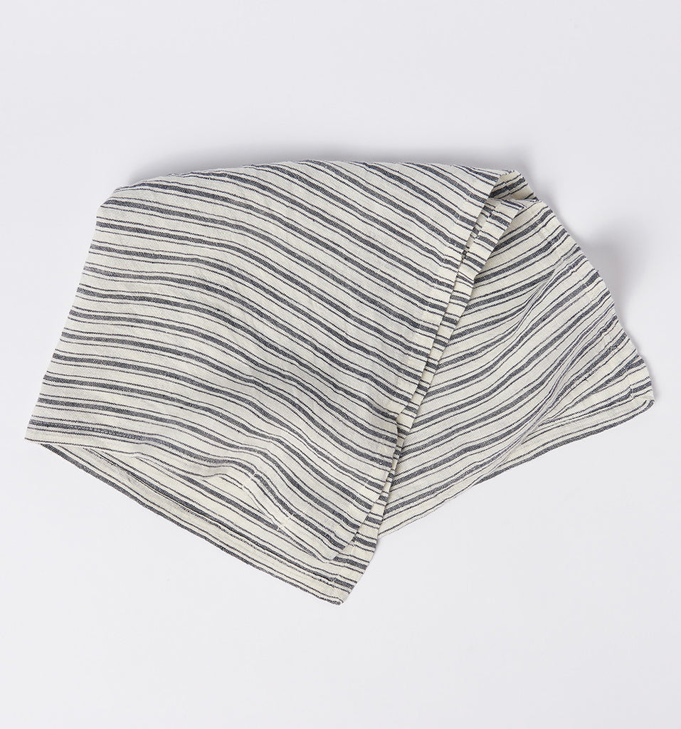 Striped Linen Napkins at Farm & Fable