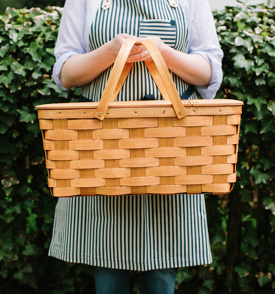 Oversized Picnic Basket by Peterboro Basket Company