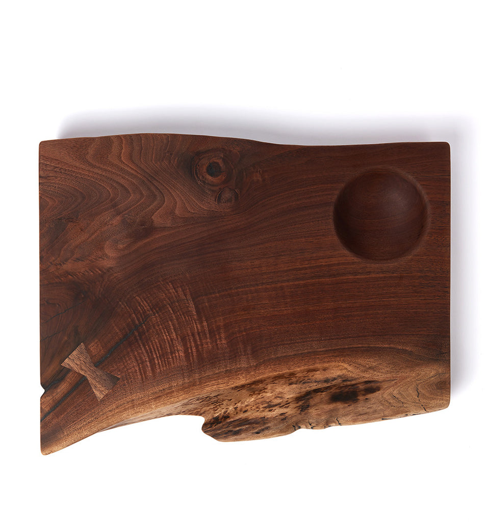 Walnut Serving Board by The Wooden Palate