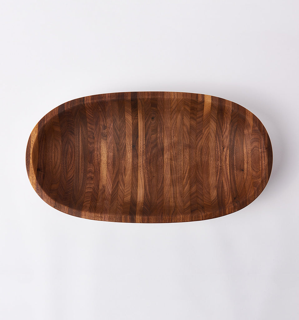the wooden palate walnut bowl