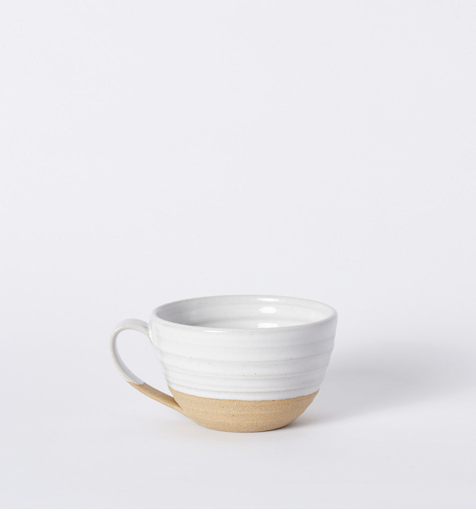 farmhouse pottery latte mug