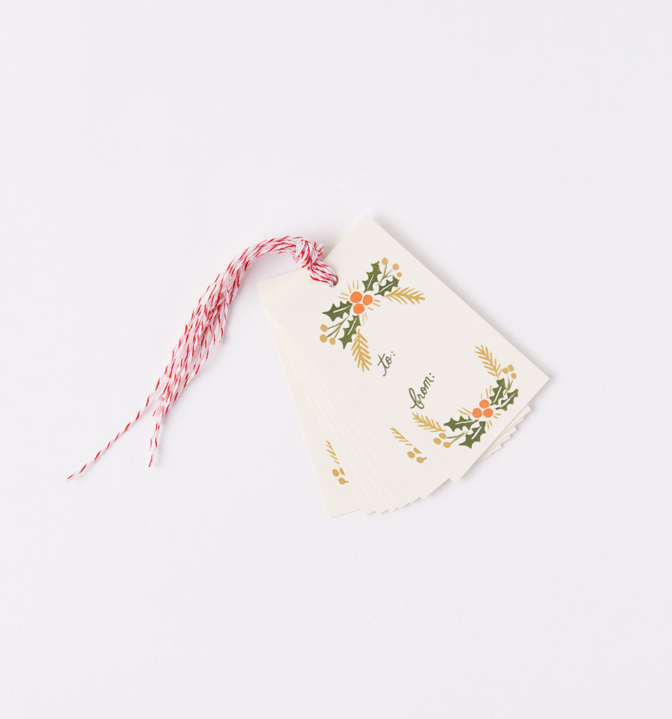 rifle paper co gift tags