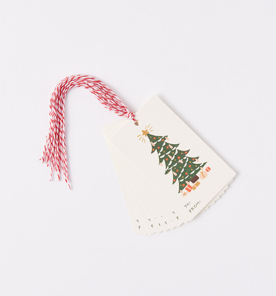 rifle paper co holiday gift tags