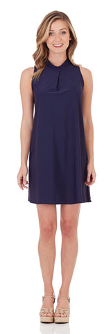Willow Shift Dress in Navy