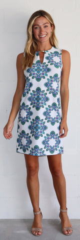 Nadine Dress <br>Jude Cloth - Medallion