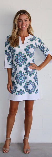 Holly Dress <br>Jude Cloth - Medallion