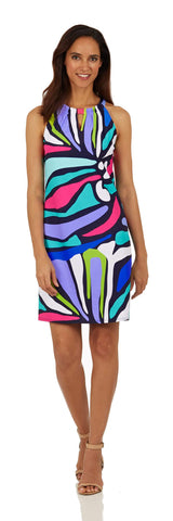 Lisa Dress <br>Jude Cloth - Oh Abstract