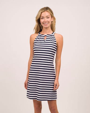 Lisa Dress <br>Jude Cloth - Stripe