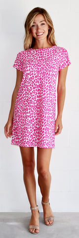 Ella Dress <br>Jude Cloth - Cheetah Classic- FINAL SALE