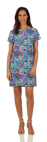 Ella Dress <br>Jude Cloth - Watercolor Floral