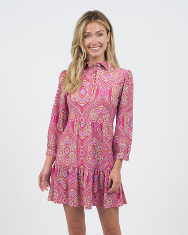 Henley Dress <br>Jude Cloth - Paisley Medallion