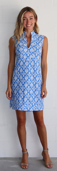 Kristen Dress <br>Jude Cloth - Fleur De Lis