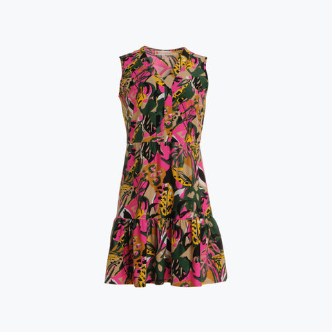 Annabelle Dress <br>Jude Cloth - Jungle Floral